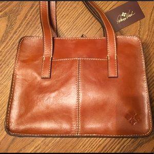 NWT Patricia Nash double handle leather satchel.